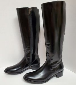 NWOB Aquatalia By Marvin K Patent Leather Boots 7